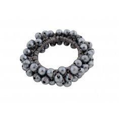 Hair elastic pearl grå