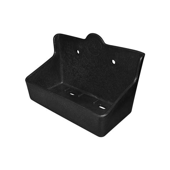 Saltstenshållare box plast 2 kg svart