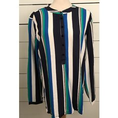 Blus Adney Trueblue/green combi
