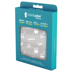 Litter Locker Design sleeve Paper Cats