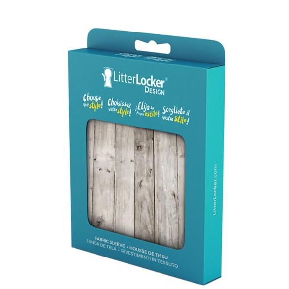 Litter Locker Design sleeve Wood