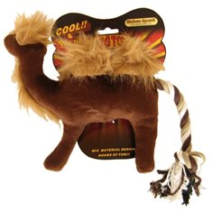 Hundleksak Plysch Kamel safari
