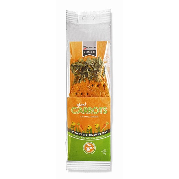 Kaningodis stickles Giant Carrot 75g