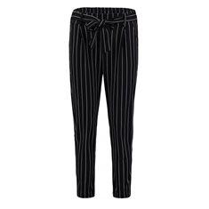 Byxa Emilia stripe Black