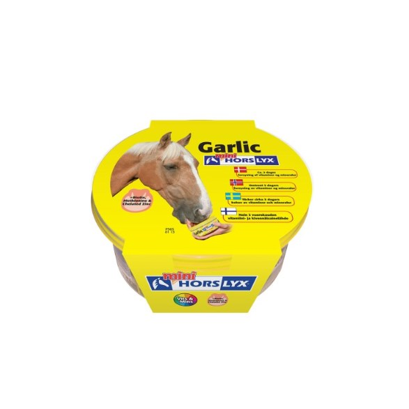 Horslyx mini garlic 650gr