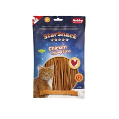 Kattgodis Chicken Catnip strip 85gr