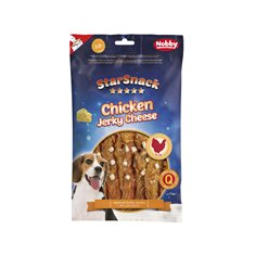 Starsnack Chicken jerky cheese 113gr