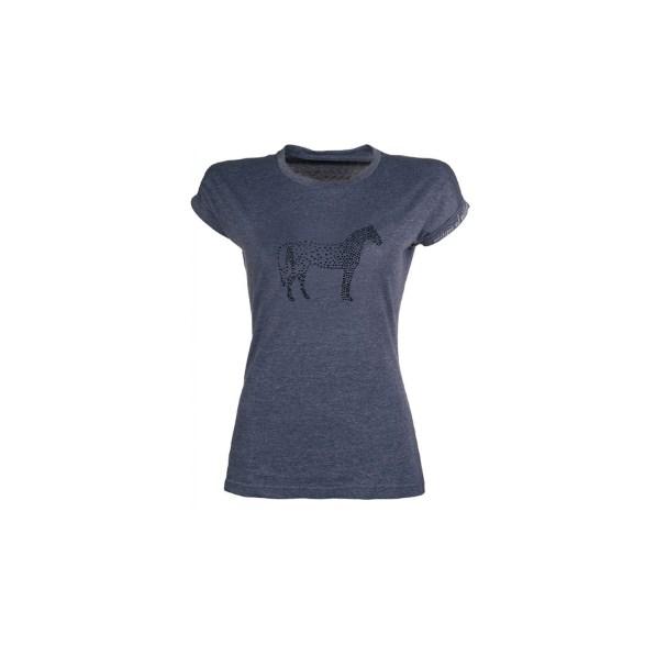 T-shirt Crystal horse Dk Blue