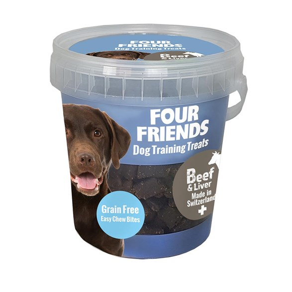 Hundgodis FFD Training Treat Biff/lever 400gr