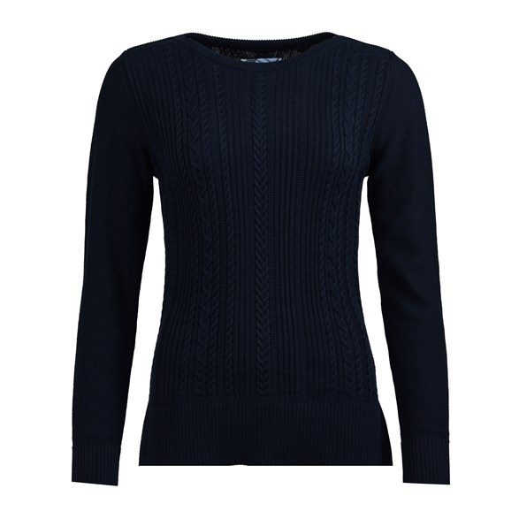 Tröja Hampton knit Navy