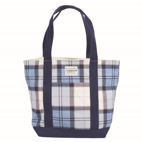 Väska Kirkaldy Fade blue tartan