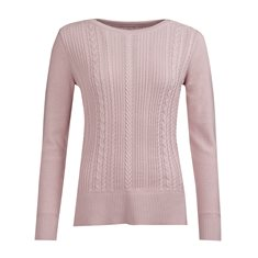 Tröja Hampton knit Pale pink