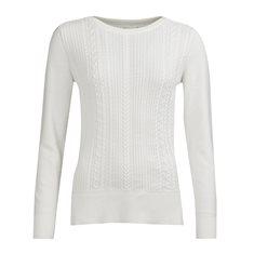 Tröja Hampton knit Offwhite