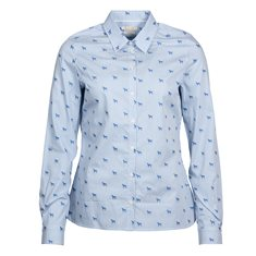 Blus Hampton Pale blue