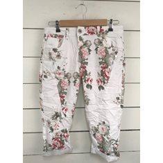 Shorts 3/4 Flower