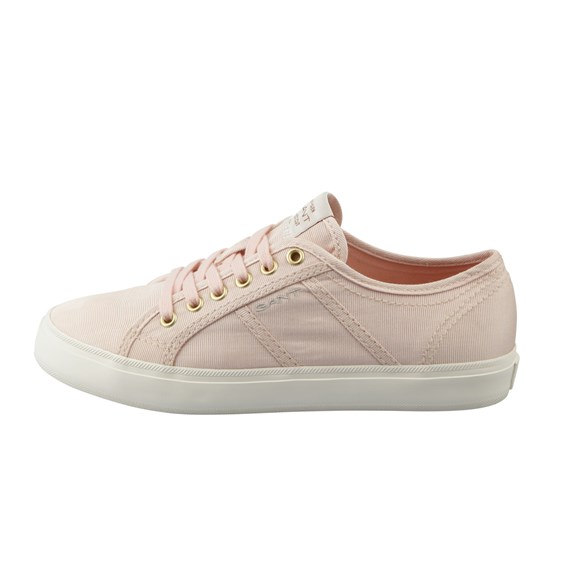 Sko Zoee low lace Silver Pink