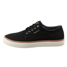 Sko Bari low lace Black