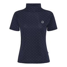Top Aptic SS Navy/dot