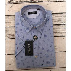 Skjorta Villium SS Blue