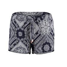 Shorts Sia Navy Paisley