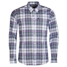 Skjorta Oxford check 2 White