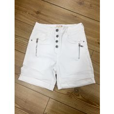 Shorts m zip XS White