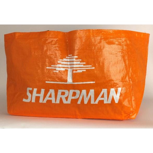 Höpåse stor orange Sharpman