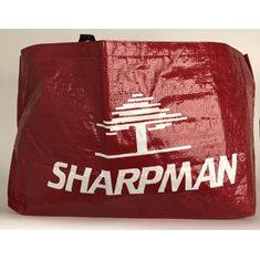 Höpåse stor vinröd Sharpman