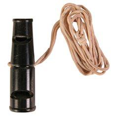 Visselpipa i horn 2-ron 6,5cm