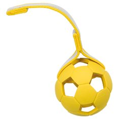 Hundleksak Sportingboll på band 7cm