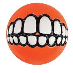 Hundleksak Rogz grinz 7,8cm orange