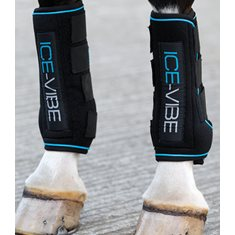Ice Vibe Boots Full black/aqua