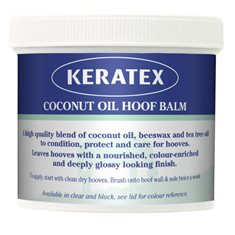 Keratex Hoof Oil Coconut Svart 400gr