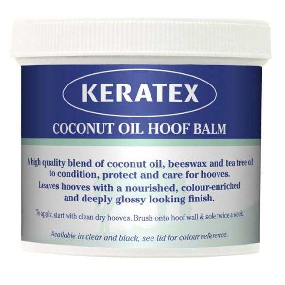 Keratex Hoof Oil Coconut Svart 400gr