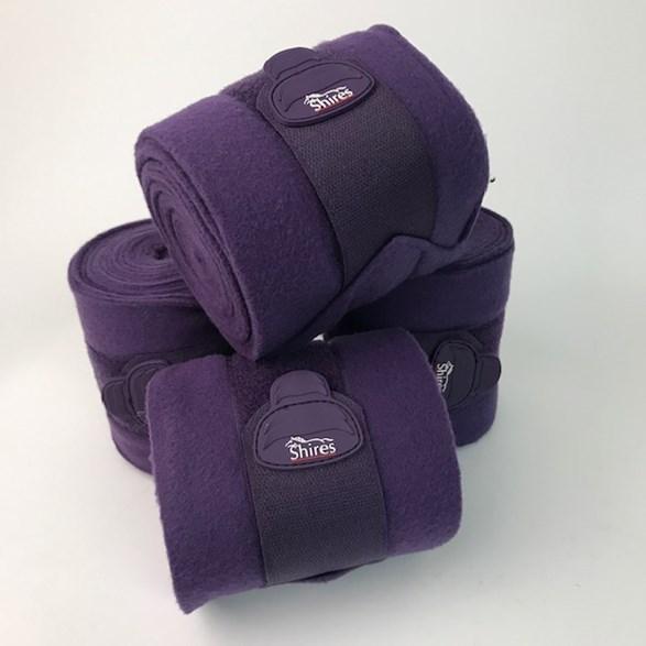 Benlinda DeLuxe fleece 3m purple
