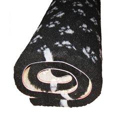 Fäll med tass 75x100cm svart