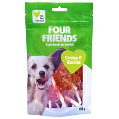 Hundgodis FFD Chicken N`Rawhide 100g