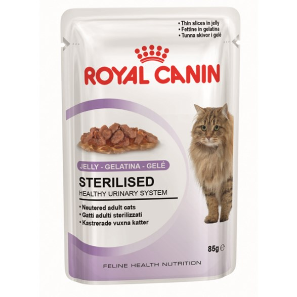 Royal Canin Sterilised Jelly 12*85