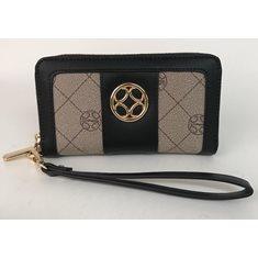 Plånbok print svart