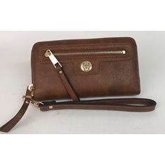 Plånbok handled brun