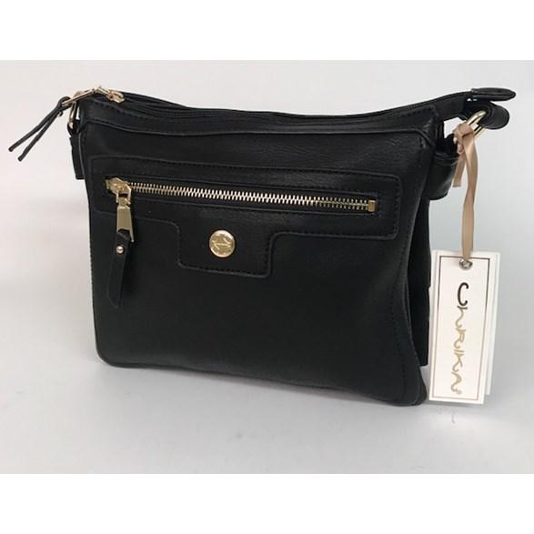 Väska fack svart