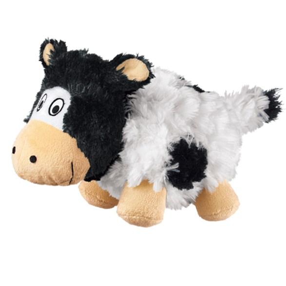 Hundleksak Crunchy Cow small
