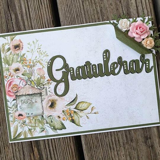 Gratulationskort