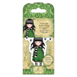 Collectable Rubber Stamp - Santoro - #26 The Scarf