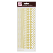 Outline Stickers - Border - Gold