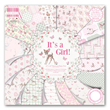 Paper pad - Its a girl - 30x30cm - 48st cardstock