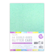 A4 Double Sided Bumper Glitter Pack - Rainbow Pastel - 350gsm - 12st