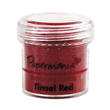 Embossingpulver - Tinsel Red