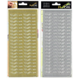 Peel-Off Stickers - Vi gifter oss - Silver