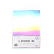 A4 Holographic Card - 10st